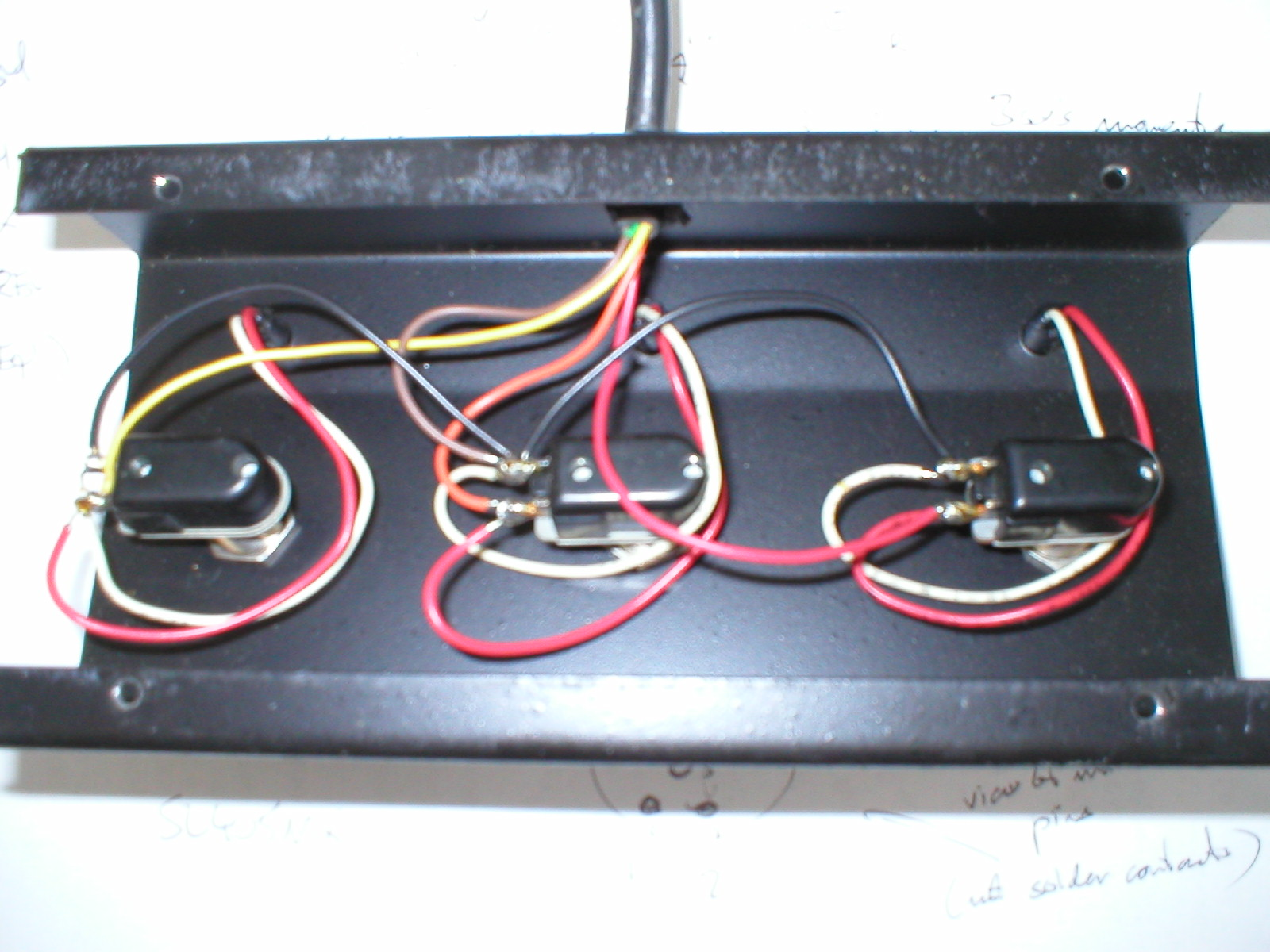 3 Button Footswitch Schematic Just Another Wiring Diagram Blog Peavey Images Gallery